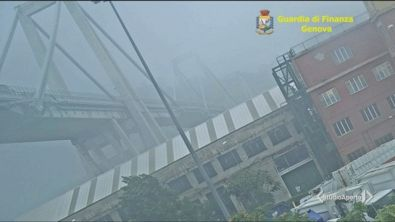 Ponte Morandi, nuovo video choc