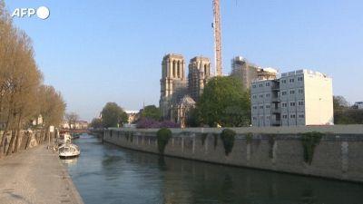 Notre-Dame, a due anni dall'incendio la cattedrale e' in piena ricostruzione