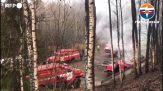 Russia, incendio in una fabbrica di esplosivi: 15 morti