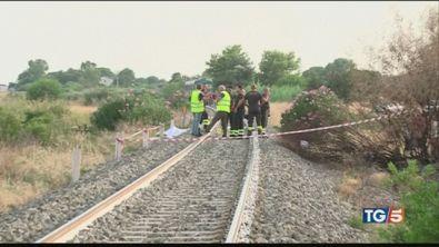 Fratellini travolti e uccisi da un treno