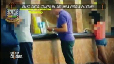 Falso cieco a Palermo