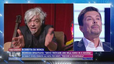 """Signoretti a Morgan: """"Falla finita"""""""
