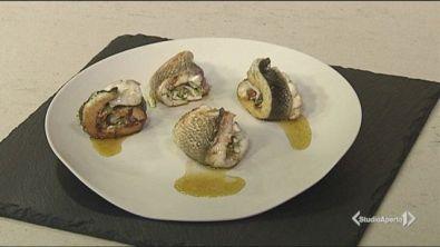 Involtini di pesce e zucchine
