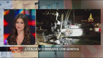 Genova, ponte Morandi, un anno dopo