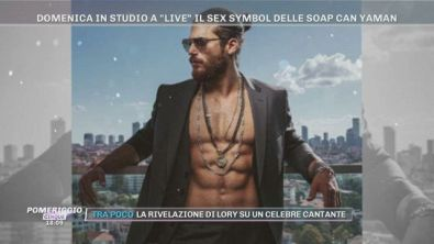 """Domenica in studio a """"Live"""": Can Yaman"""