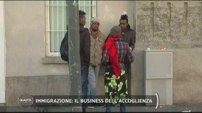 Immigrazione: il business dell'accoglienza