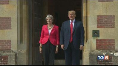 E' sulla May l'ultimo voltafaccia di Trump