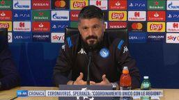Gattuso, prima da tecnico in Champions