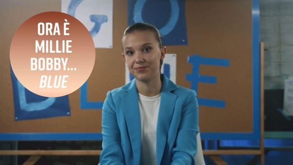 Millie Bobby Brown è diventata... 'Blue'?