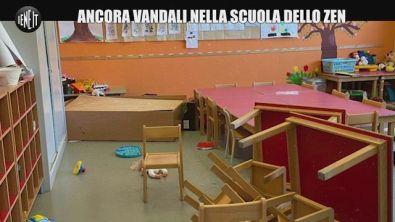 Zen di Palermo, vandali devastano ancora la scuola Falcone: pipì sui disegni dei bambini
