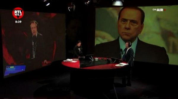 Berlusconi: ho creduto in Renzi ma è finita male