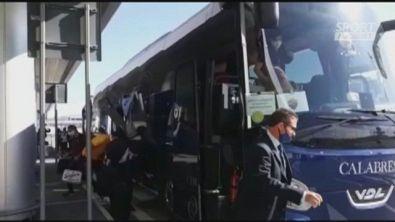 Roma in partenza per Duisburg