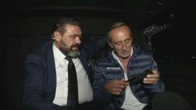 Gaspare trova Franco in macchina