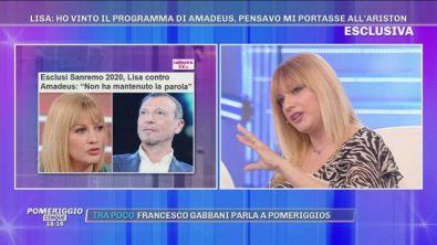"Lisa Panetta: ""Amadeus mi voleva a Sanremo ma..."""