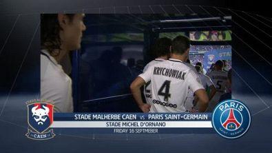 Stade Malherbe Caen-Paris Saint Germain 0-6