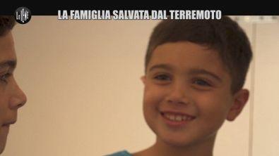 GOLIA: La famiglia salvata dal terremoto