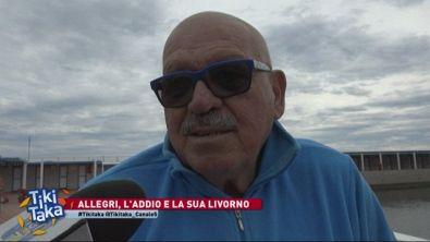 Allegri, l'addio e la sua Livorno