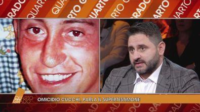 Omicidio Cucchi, parla il supertestimone