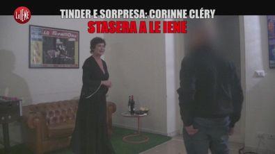 Corinne Clery in Tinder e sorpresa