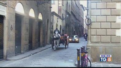 Carrozze e cavalli nelle città