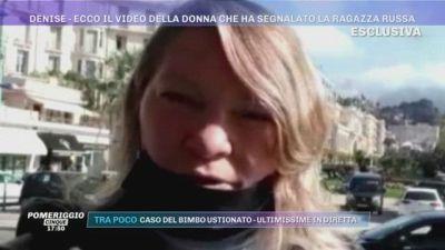 Denise Pipitone - Ecco il video della donna che ha segnalato Olesya