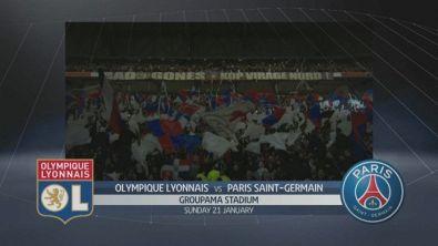 Lione - PSG 2-1