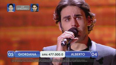 Alberto vs Giordana - La finalissima - I esibizione