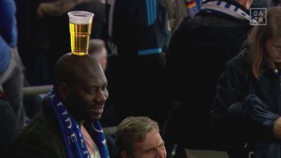 Schalke-City, il tifoso equilibrista