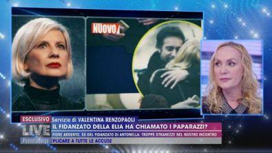 Antonella Elia e il presunto tradimento
