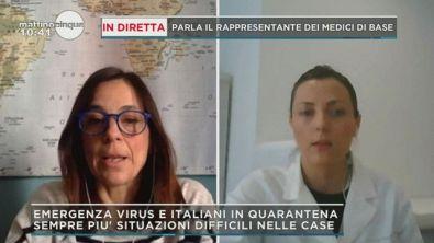 Emergenza virus e italiani in quarantena