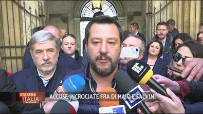 SLa copertina: accuse incrociate tra Di Maio e Salvini