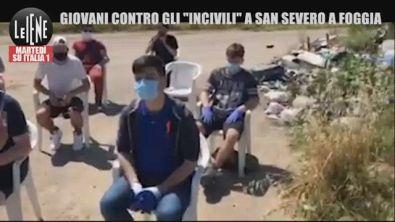 """I giovani di San Severo, Foggia:""""Assediati dai rifiuti tossici, le istituzioni non ci ascoltano"""""""