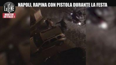 Napoli, motorino rubato con la pistola in mano durante la festa per la Coppa Italia