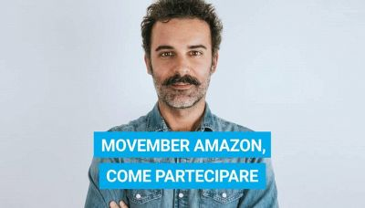Movember Amazon, come partecipare all'iniziativa