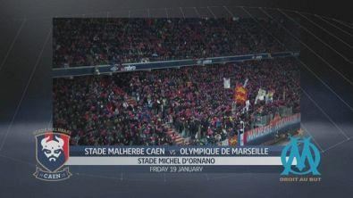 Caen - Olympique Marsiglia 0-2