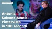 Antonia Salzano Acutis, l'intervista in 100 secondi