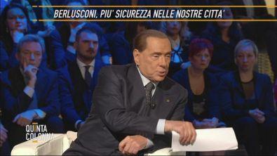 Silvio Berlusconi:l'immigrazione