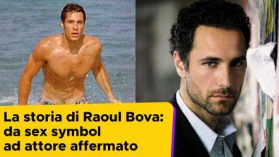 La storia di Raoul Bova: da sex symbol ad attore affermato