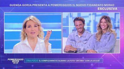 Guenda Goria presenta il nuovo fidanzato Mirko