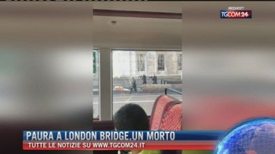 Breaking News delle ore 16.00: Paura a London Bridge, un morto