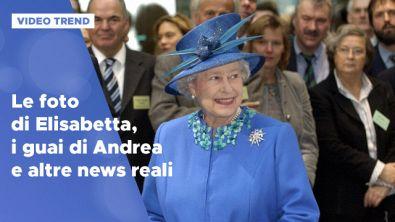 Le foto di Elisabetta, i guai di Andrea e altre news reali