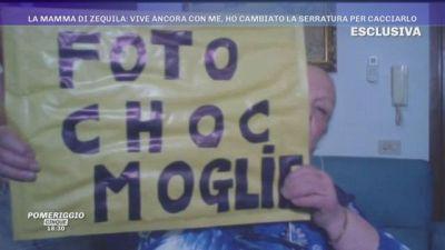 La mamma di Zequila: ''Ho la busta choc moglie''