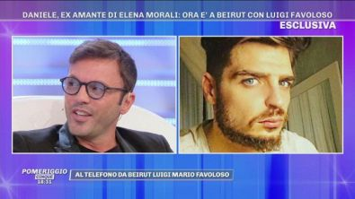 """Luigi Favoloso in diretta da Beirut: """"Sto corteggiando Elena Morali!"""""""