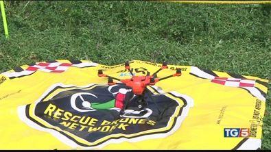 Una rete di droni per aiutare nei soccorsi