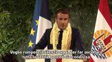 """Macron: """"verità"""" sui test nucleari in Polinesia, ma niente scuse"""