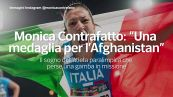 """Monica Contrafatto: """"Una medaglia per l'Afghanistan"""""""
