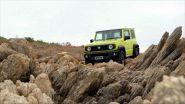 Suzuki Jimny e la trazione 4WD AllGrip Pro
