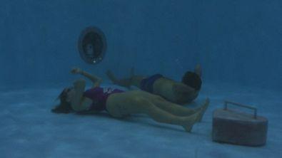 Stefano e Silvia: sfide in acqua