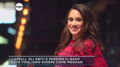 Meghan, l'affascinante americana