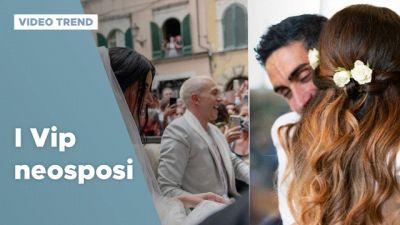 Da Bernardeschi-Ciardi a Palmas-Magnini, i Vip neosposi